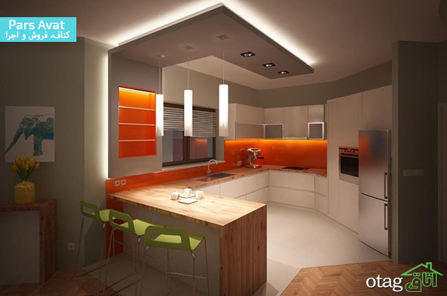 سقف کاذب،کناف سقف آشپزخانه
