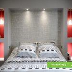 نمونه دیوار کناف برای اتاق خواب
