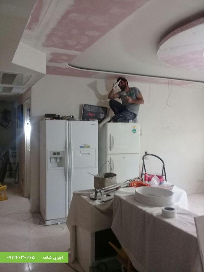 اجرای سقف کناف،اجرای دیوار کناف