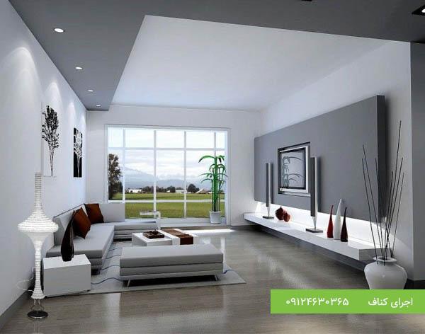 کناف ساده، اجرای کناف،کناف سقف،کناف دیوار