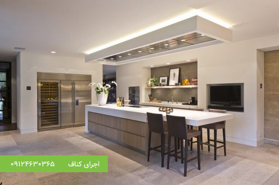 طرح های سقف کاذب آشپزخانه،سقف کناف آشپزخانه