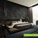 نمونه سقف کاذب مدرن اتاق خواب