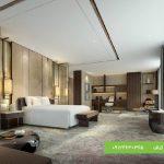 طرح خاص سقف کاذب با کناف برای اتاق خواب
