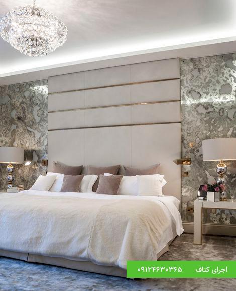 مدل های جدید کناف سقف اتاق خواب