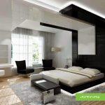 سقف کاذب اتاق خواب مدرن