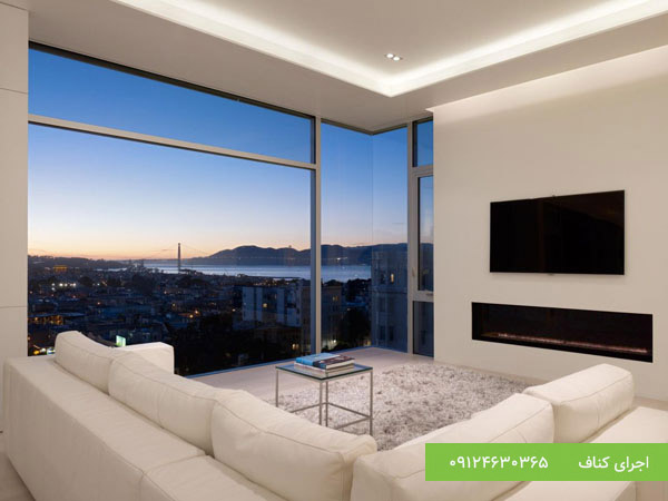 بهترین نورپردازی های سقف با کناف