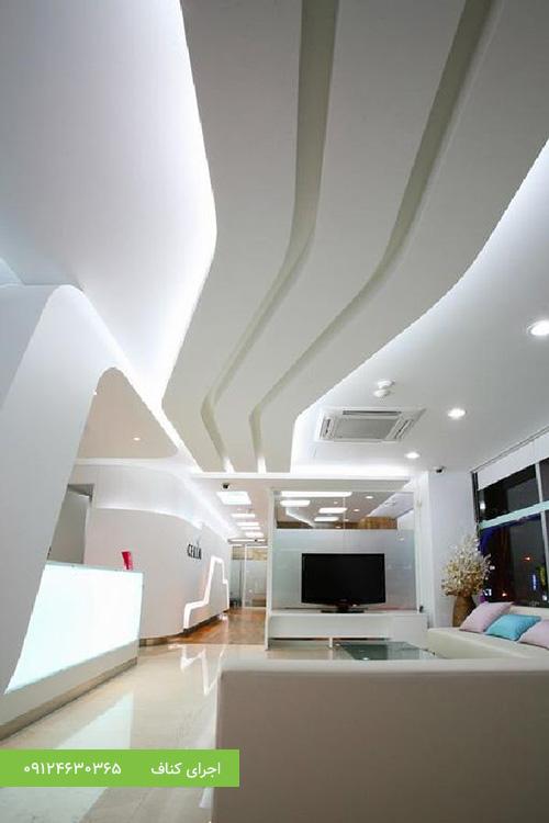 سقف کناف،اجرای سقف کاذب کناف