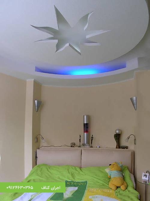 مدل کناف سقف،طرح کناف دور لوستر