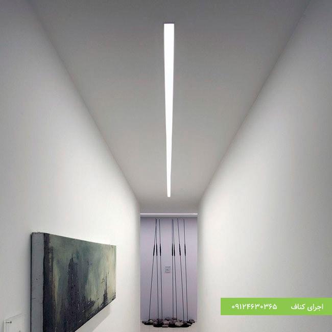 شیار نور مخفی