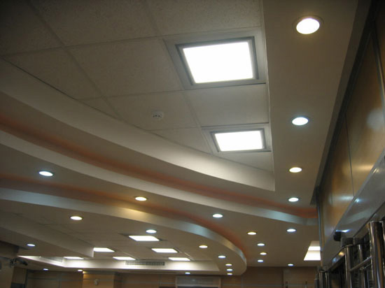 کناف سقف،طرح کناف سقف