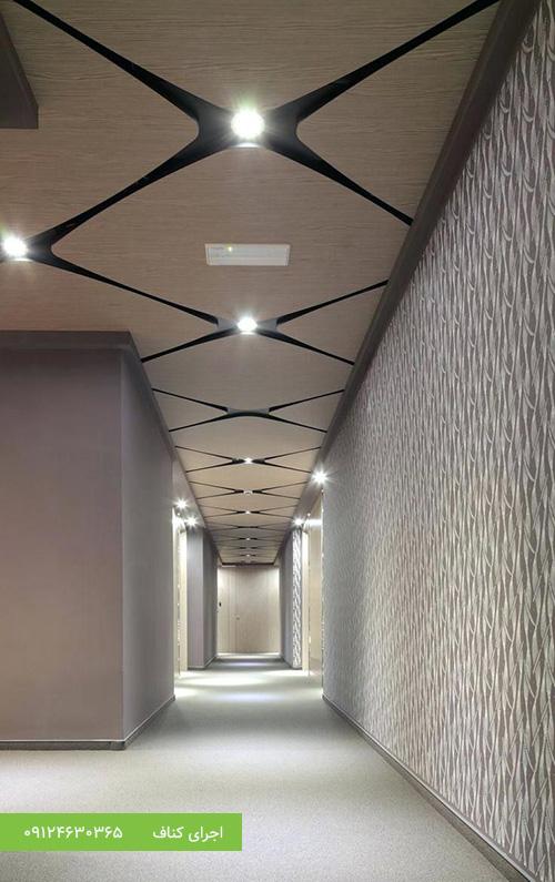 اجرای کناف سقف،کناف کاری سقف،سقف کاذب دفتر کار