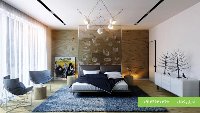 کناف کاری سقف اتاق خواب