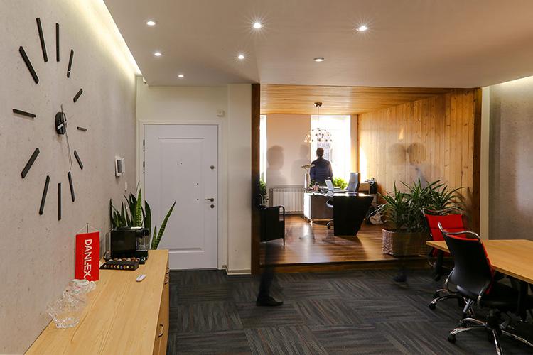 سقف کاذب کناف برای دفتر کار