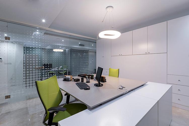 سقف کناف دکوراتیو دفتر کار