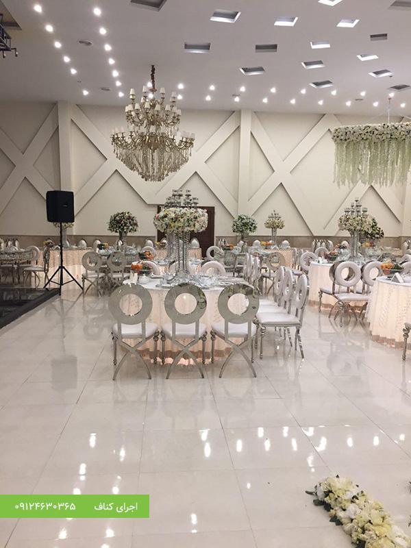 اجرای کناف دیوار تالار عروسی