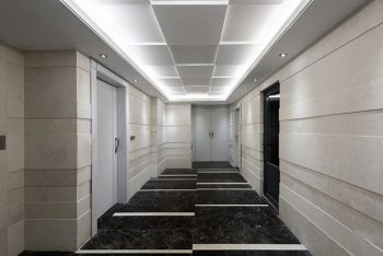 نمونه کناف کاری ساختمان مدرن و مینیمال