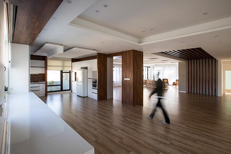 نمونه کناف کاری سقف خانه مسکونی