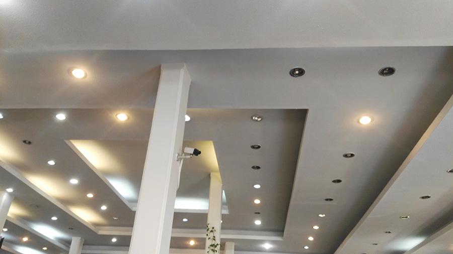 سقف کاذب کناف پلکانی