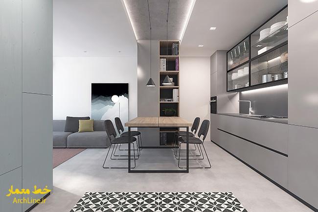 سقف کاذب پذیرایی منزل