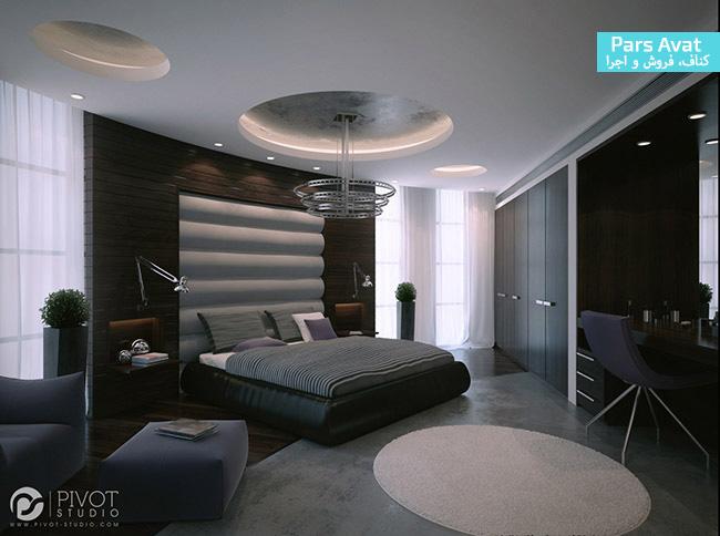 سقف کاذب کناف اتاق خواب