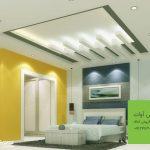 طرح مدرن برای سقف اتاق خواب