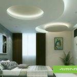 سقف کاذب کناف با نور مخفی