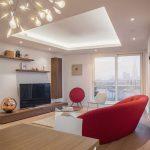 سقف کاذب کناف برای پذیرایی منزل