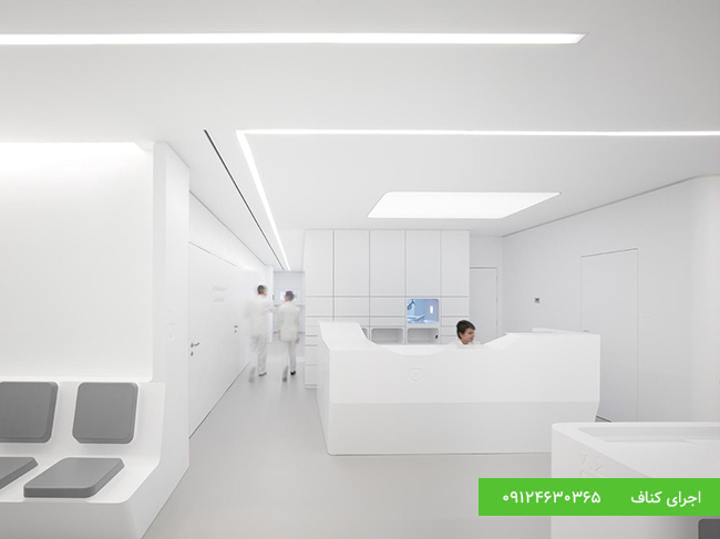 اجرای سقف کاذب مطب پزشکی