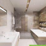 نمونه دکوراسیون سرویس بهداشتی با نور مخفی