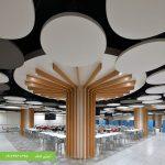 طرح سقف کاذب کناف مجتمع تجاری