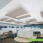 سقف کناف دفتر اداری مدرن