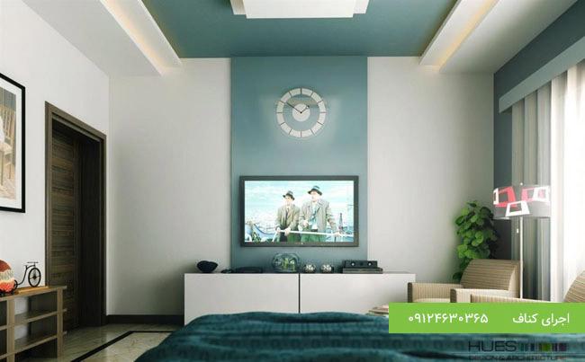 TV Wall مدرن با کناف
