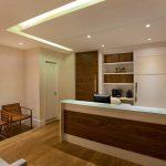 مدل سقف کاذب مدرن پذیرش دفتر کار