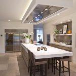 اجرای کناف سقف آشپزخانه به سبک مدرن