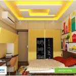 مدل سقف کاذب و نورپردازی اتاق کودک