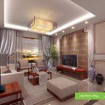 مدل سقف کاذب و نورپردازی پذیرایی منزل