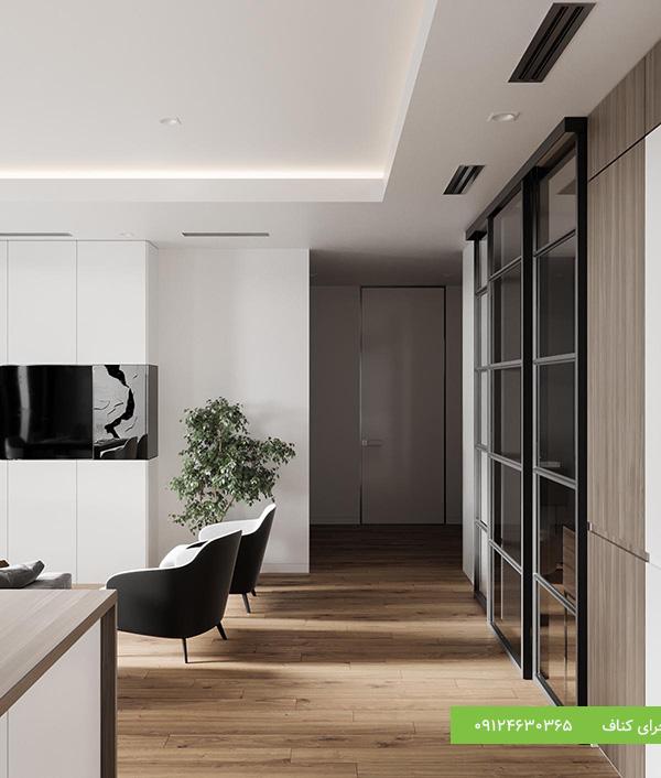 سقف کاذب مدرن برای منزل