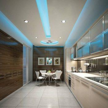 سقف کاذب مدرن آشپزخانه