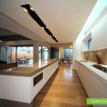 نور مخفی کناف سقف آشپزخانه