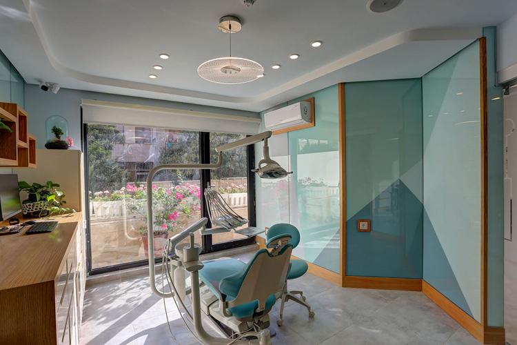 سقف کاذب کناف مطب دندانپزشکی